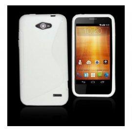 Funda Silicona Telefono Zte Orange Hi 4g Transparente
