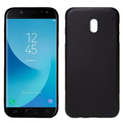 Funda Silicona Samsung Galaxy J7 2017 Negra - Foto 1