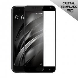 Protector Cristal Xiaomi Mi6 3d Negro