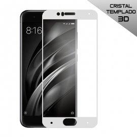 Protector Cristal Xiaomi Mi6 3d Blanco