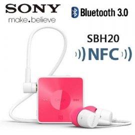 Auricular Sony Bluetooth Sbh20 Rosa