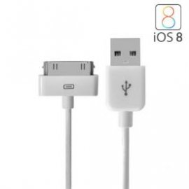 Cable de Datos Usb Ipad - Ipod - Iphone 4s 4 Homologado