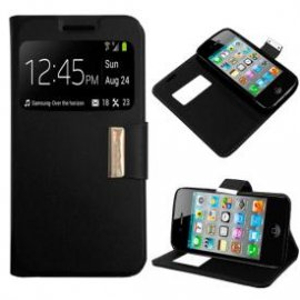 Funda Libro Iphone 4/4g/4s Negra