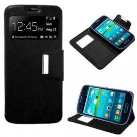Funda Libro Samsung Galaxy S3 Mini Negro