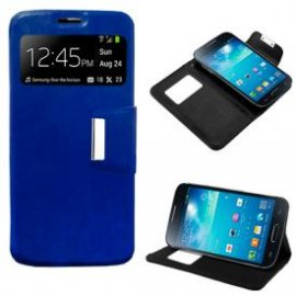 Funda Libro Samsung Galaxy S4 Mini Azul