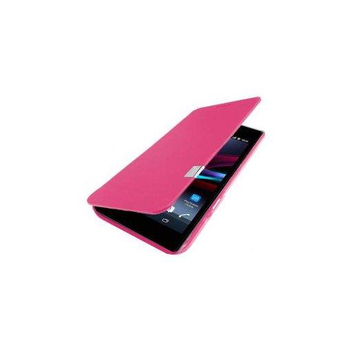 Funda Libro Sony Xperia Z1 Rosa - Foto 1