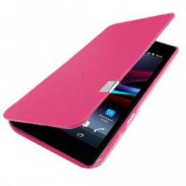 Funda Libro Sony Xperia Z1 Rosa
