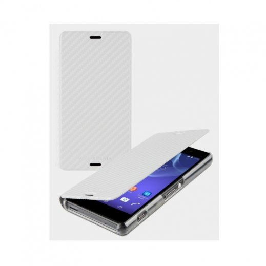Funda Libro Sony Xperia Z1 Blanco - Foto 1