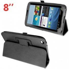 "Funda Tablet Samsung Galaxy Tab 3 T3100 Polipiel Negra 8"""