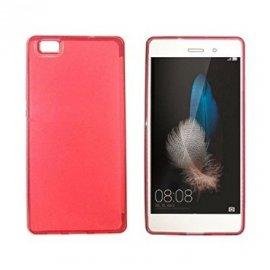 Funda Silicona Huawei P8 Rojo