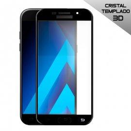 Protector Cristal Templado Samsung A50/a30 3d Negro