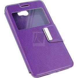 Funda Libro Huawei Y6 Ii Violeta