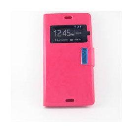 Funda Libro Sony Xperia E4 Rosa