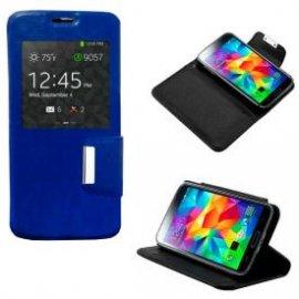 Funda Libro Samsung Galaxy S5 Azul