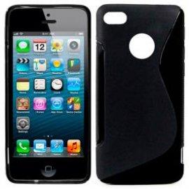 Funda Silicona Iphone 5/5s Negro