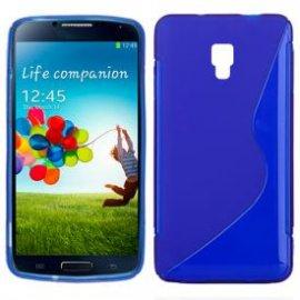 Funda Silicona Samsung Galaxy S4 Azul