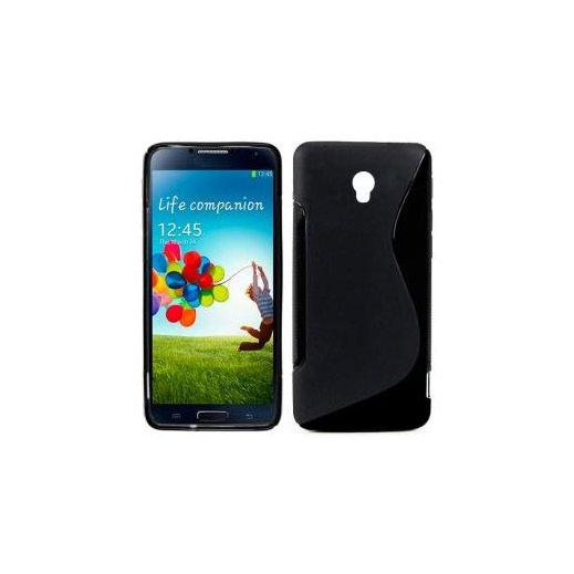 Funda Silicona Samsung Galaxy S4 Negra - Foto 1