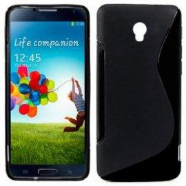 Funda Silicona Samsung Galaxy S4 Negra