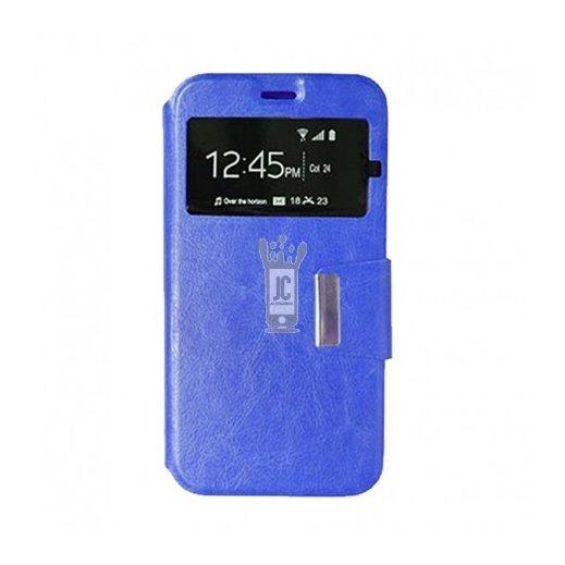 Funda Libro Huawei Y6 2019 Azul - Foto 1