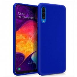 Funda Silicona Samsung A50 Azul