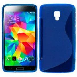 Funda Silicona Samsung Galaxy S5 Azul