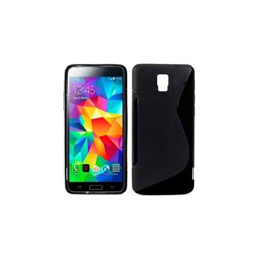 Funda Silicona Samsung Galaxy S5 Negra - Foto 1