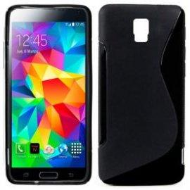 Funda Silicona Samsung Galaxy S5 Negra