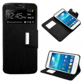 Funda Libro Samsung Galaxy Core Plus Negro