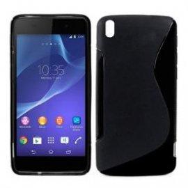 Funda Silicona Sony Xperia Z2 Negro