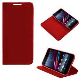 Funda Libro Sony Xperia Z1 Compact Rojo Flzmini
