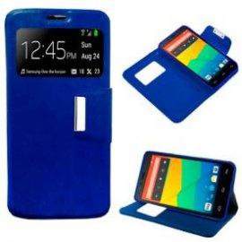 Funda Flip Cover Bq Aquaris E4.5 Azul