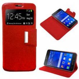 Funda Libro Samsung Galaxy Core 2 Rojo