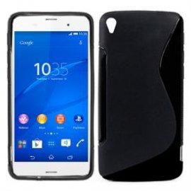 Funda Silicona Sony Xperia Z3 Negro