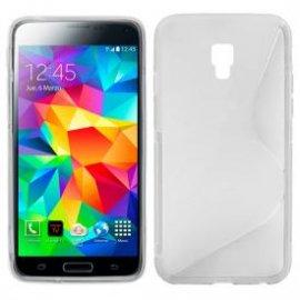 Funda Silicona Samsung Galaxy S5 Transparente