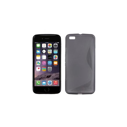 """Funda Silicona Iphone 6g 4.7"""" Negro - Foto 1"""