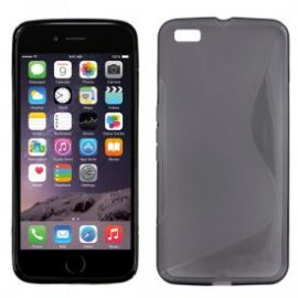 "Funda Silicona Iphone 6g 4.7"" Negro"