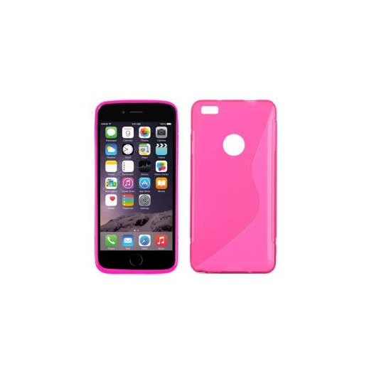 "Funda Silicona Iphone 6g 4.7"" Rosa - Foto 1"