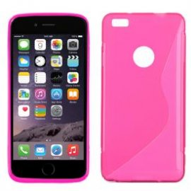 "Funda Silicona Iphone 6g 4.7"" Rosa"
