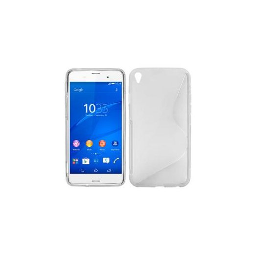 Funda Silicona Sony Xperia Z3 Transparente - Foto 1