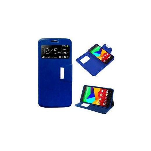 Funda Flip Cover Bq Aquaris E5 4g Azul - Foto 1