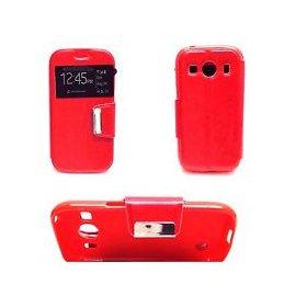 Funda Libro Samsung Galaxy Ace 4 Rojo