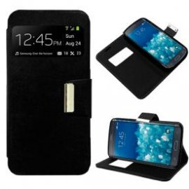 Funda Libro Samsung Galaxy Note Edge Negro