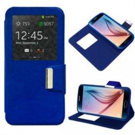 Funda Libro Samsung Galaxy S6 Azul