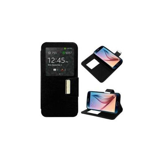 Funda Libro Samsung Galaxy S6 Negro - Foto 1