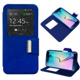 Funda Libro Samsung Galaxy S6 Edge Azul