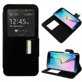 Funda Libro Samsung Galaxy S6 Edge Negro