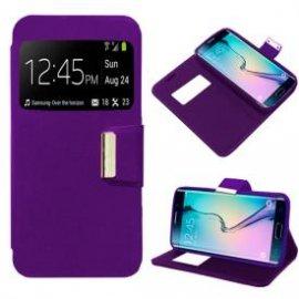 Funda Libro Samsung Galaxy S6 Edge Violeta