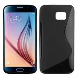 Funda Silicona Samsung Galaxy S6 Negro