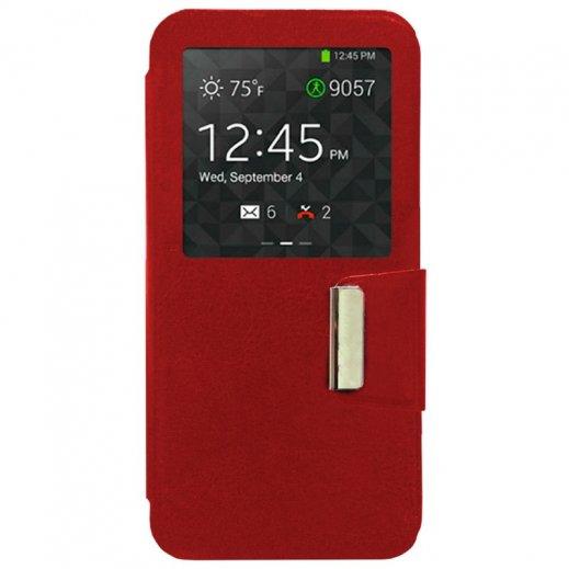 Funda Libro Samsung Galaxy S6 Edge Roja - Foto 1