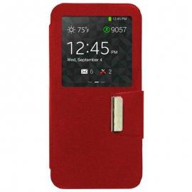 Funda Libro Samsung Galaxy S6 Edge Roja